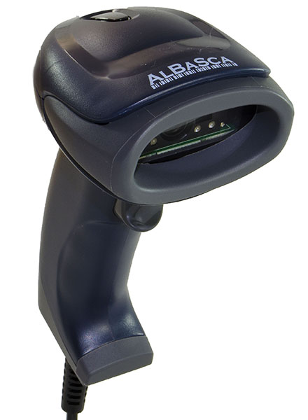 2D Barcodescanner Albasca MK-652D Datamatrix QR-Codes USB Bild 0