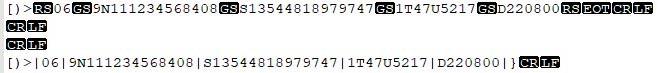 securepharm Barcodescanner Umwandlung