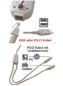 Barcodescanner USB Albasca LED-CCD-820 PRO-LINE Kontakt Bild 4