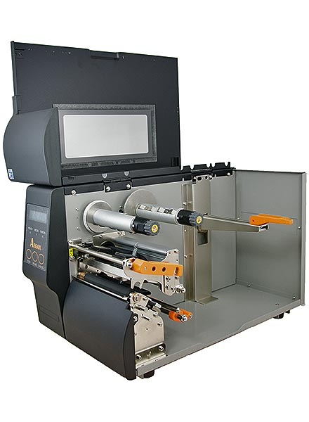 Thermotransfer-Etikettendrucker IX4-250 ARGOX Industrie Netzwerk USB Bild 2