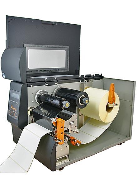 Thermotransfer-Etikettendrucker IX4-250 ARGOX Industrie Netzwerk USB Bild 4