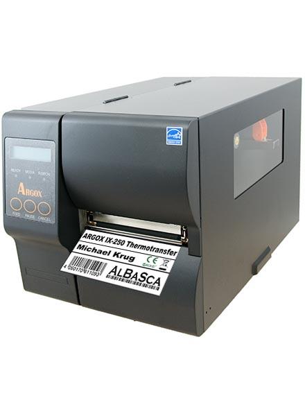 Thermotransfer-Etikettendrucker IX4-250 ARGOX Industrie Netzwerk USB Bild 0