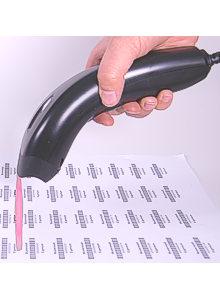 Barcodescanner Albasca MK-1000 USB MIT STÄNDER LED-Technik Bild 3