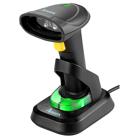 2D Bluetooth Funk Barcode Scanner ARGOX AI-6821+Station IP65